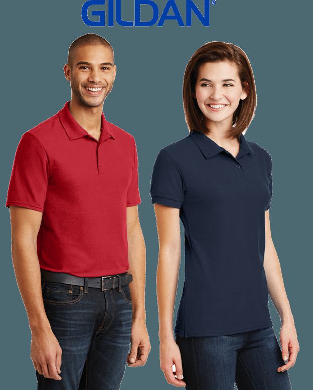 custom printed polo shirts