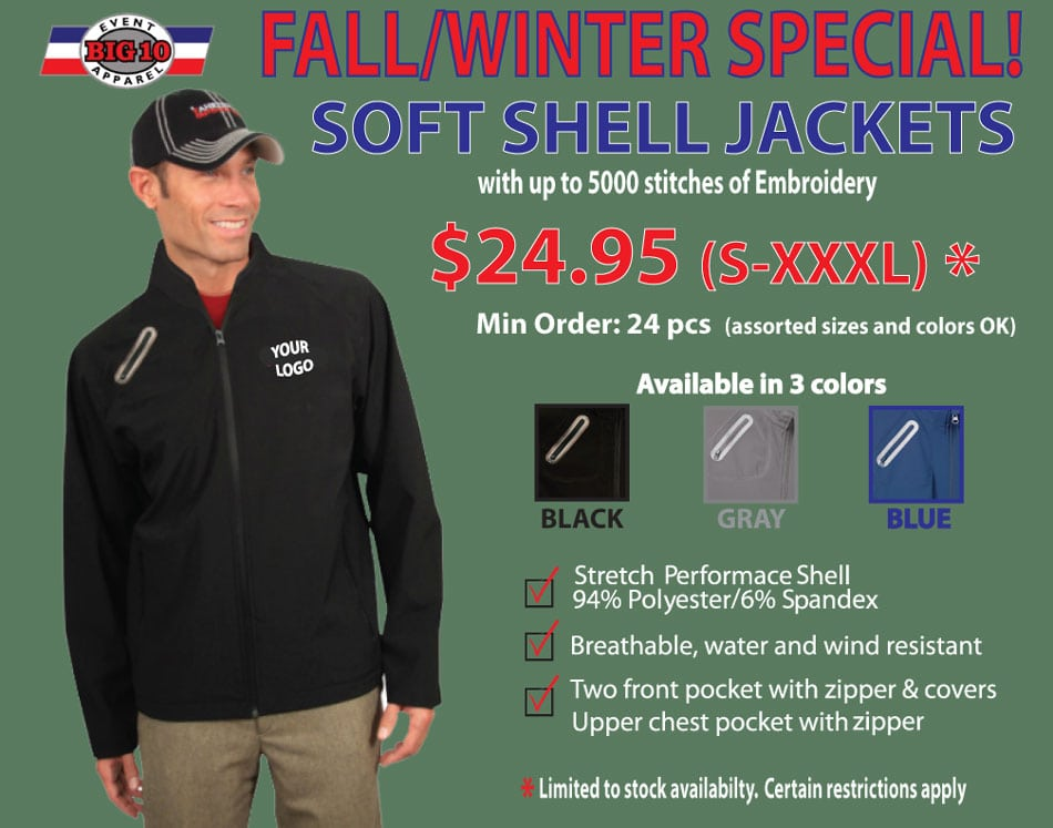 Fall/Winter Sale on Jackets